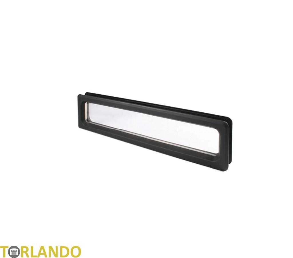 fenster rechteckig kunststoff 605 x144 mm sektion 38. Black Bedroom Furniture Sets. Home Design Ideas